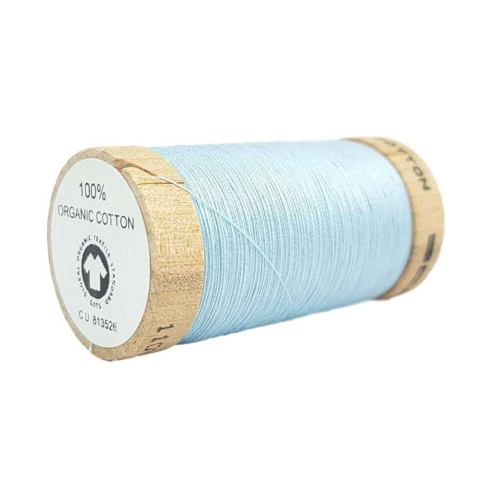 Sky Blue (4814) - 100% Organic Cotton Thread - 100m | Ab Fab Textiles