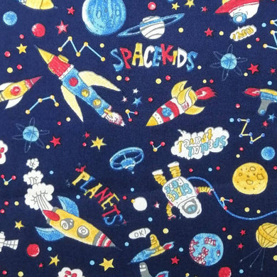SpaceKids Cotton Print | Ab Fab Textiles