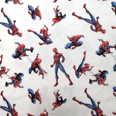 Spiderman Character Cotton Poplin - Extra Wide | Ab Fab Textiles