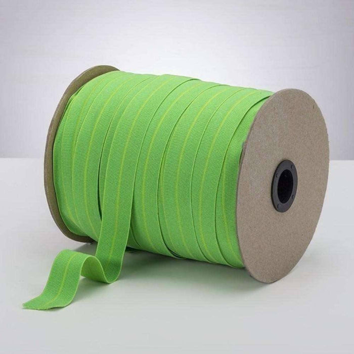 "Spring Green 1"" ProStretch™ Plush Fold Over Elastic (FOE)"