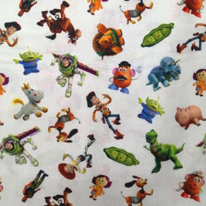 Toy Story Characters Cotton Poplin - Extra Wide | Ab Fab Textiles