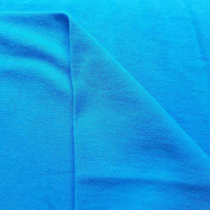 Turquoise 100% Cotton Jersey - [variant_title] - Ab Fab Textiles