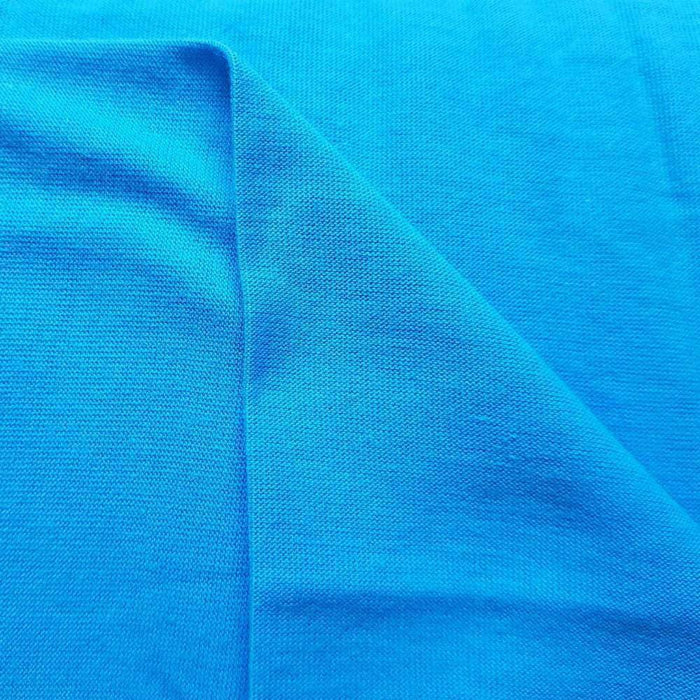 Turquoise 100% Cotton Jersey