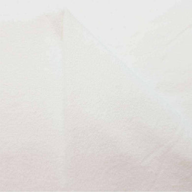 White 100% Cotton Jersey | Ab Fab Textiles