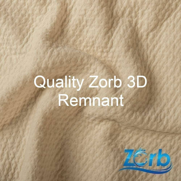 BL3D01 -Zorb® 3D Bamboo Dimple Fabric in Natural Lite