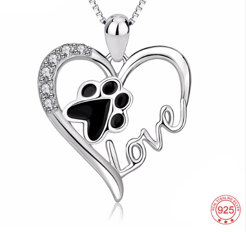 Puppy Love Heart Necklace