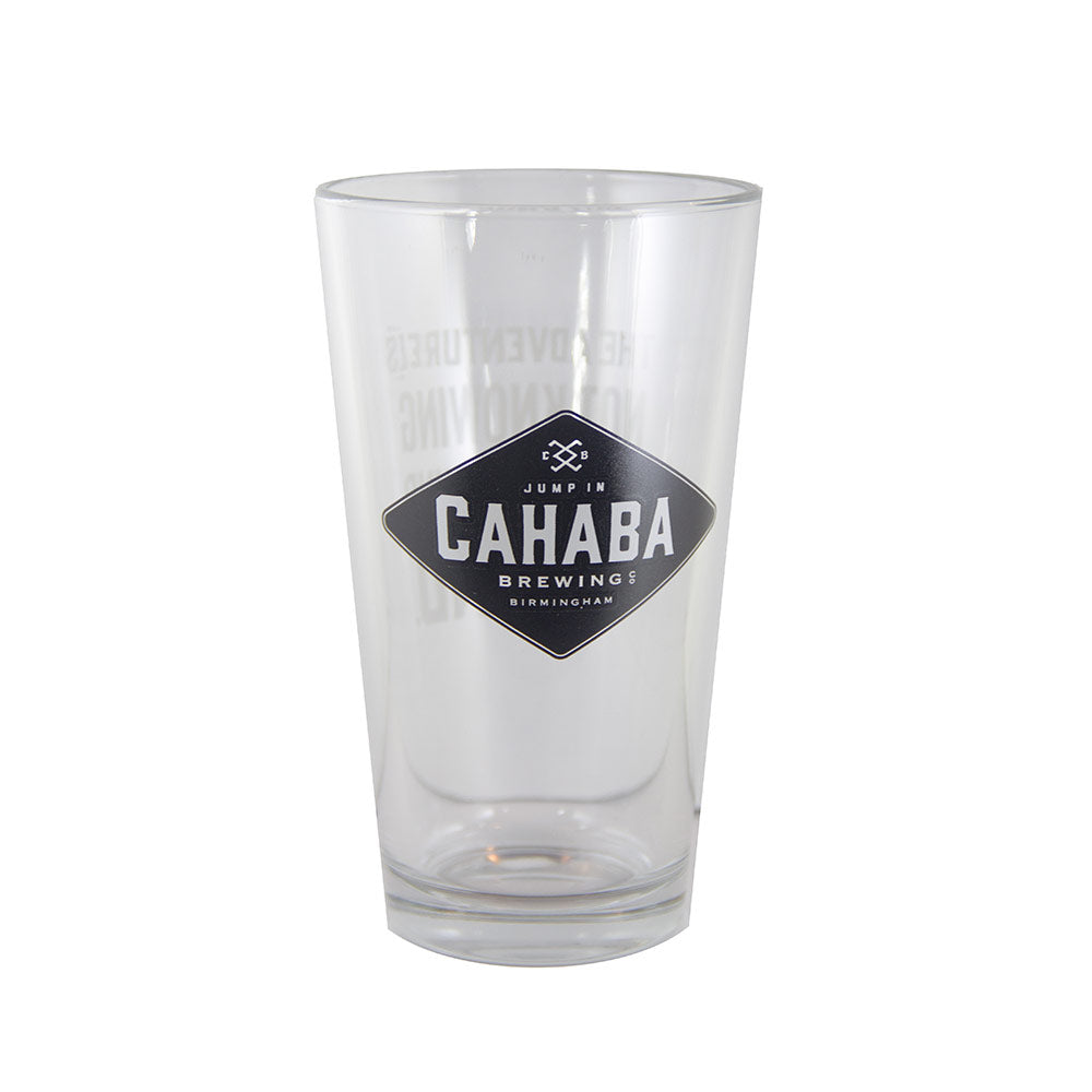 Cahaba Brewery Pint Glass