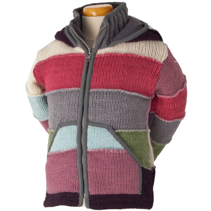 PATCHES KIDS' SWEATER
