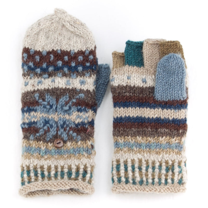 Jasper finger mittens by Lost Horizons