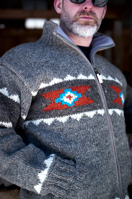 NAVAJO KNIT JACKET