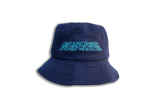 James Turrell Navy Embroidered Bucket Hat