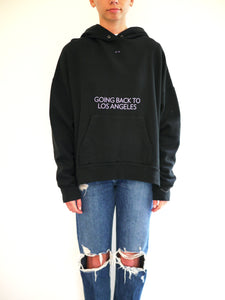 Going Back to LA Oversized Sweatshirt