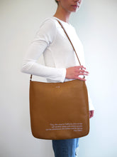 Load image into Gallery viewer, Joan Didion Cognac Crossbody Bag
