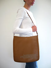 Load image into Gallery viewer, Werner Herzog Cognac Crossbody Bag