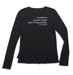 Chris Burden Long Sleeve Tee