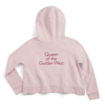 Load image into Gallery viewer, Queen of the Golden West Cropped Sweatshirt