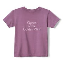 Load image into Gallery viewer, Queen of the Golden West Kid's Short Sleeve Tee