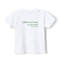 Load image into Gallery viewer, David Hockney Kid's Short Sleeve Tee