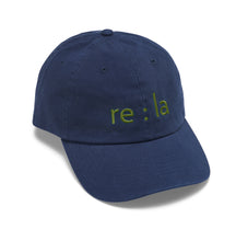 Load image into Gallery viewer, re:la Embroidered Hat