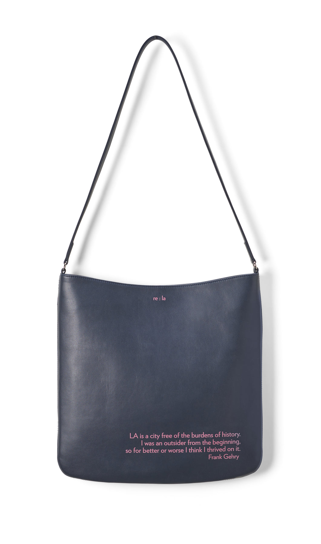Frank Gehry Navy Crossbody Bag