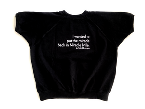 Chris Burden Short Sleeve Sweatshirt