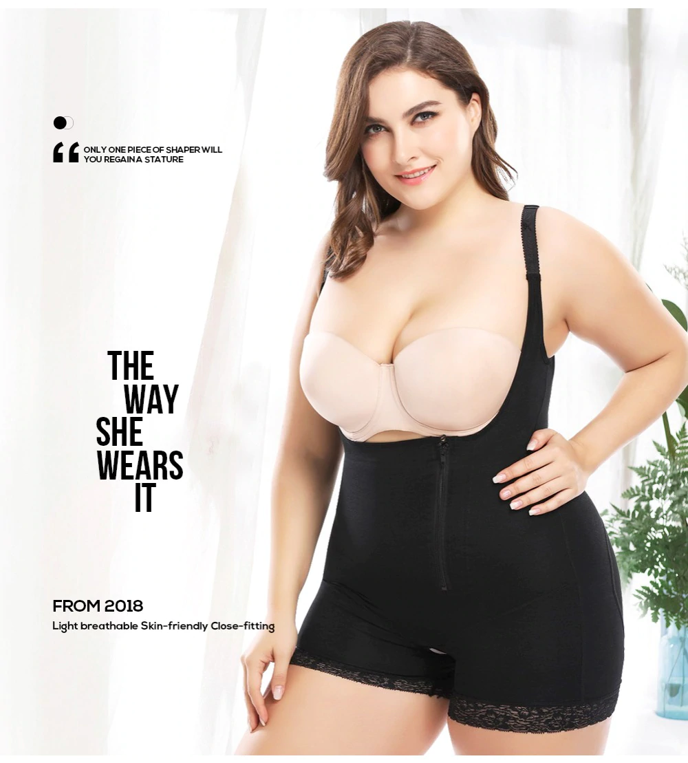 Bodysuit Shapewear For Plus Size