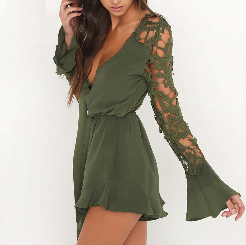 Long Sleeve Jumpsuit Romper