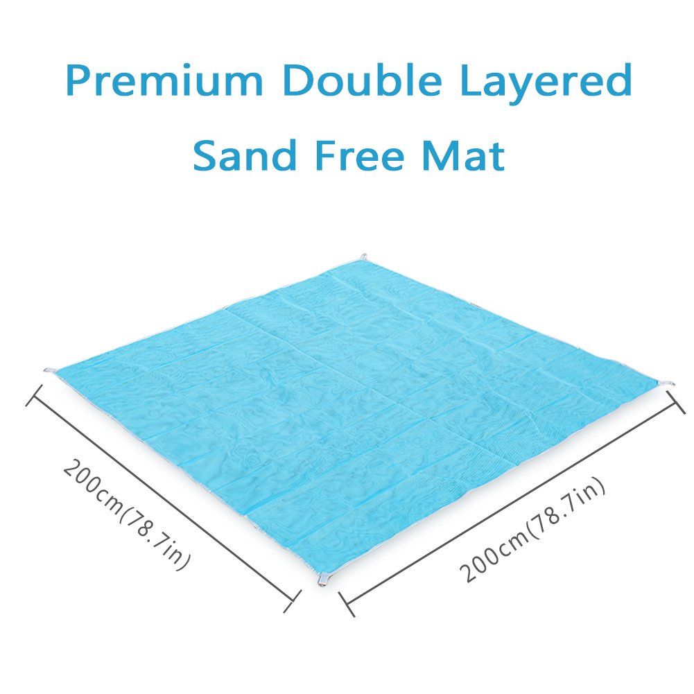 Magic Folding Beach Mat