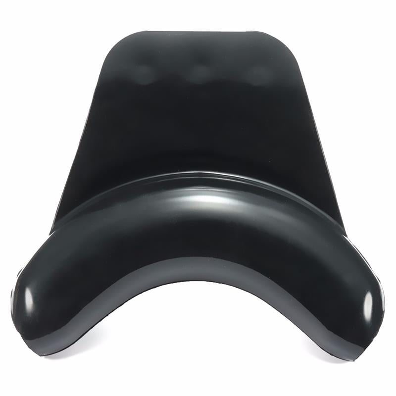Black Silicone Hair Salon Wash Sink With  Neck Rest