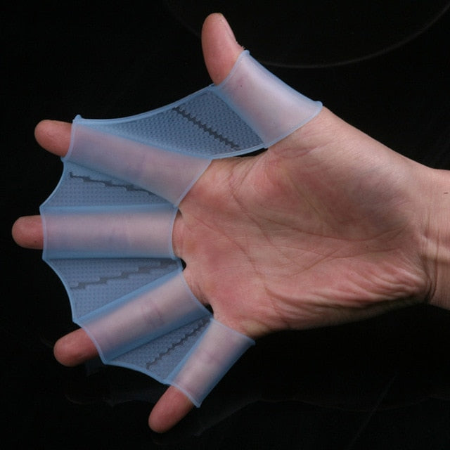 Swimming Hand Finger Fin