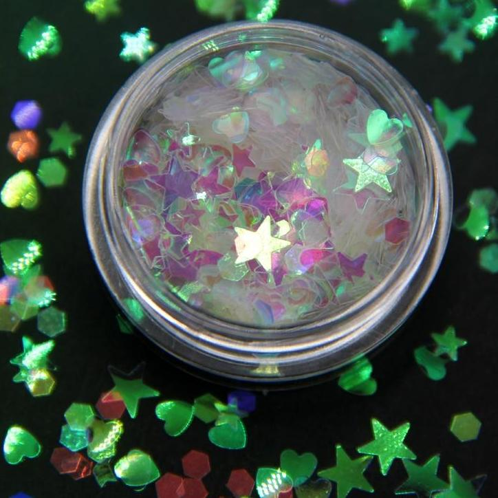 3ml/box  Acrylic Sequins Nail Art Glitter