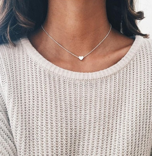 Heart/Chain/Moon Choker