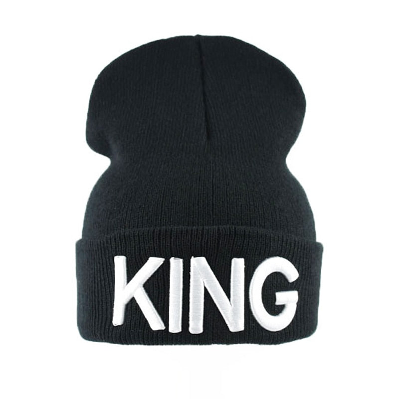 KING QUEEN Embroidered Snapback Caps