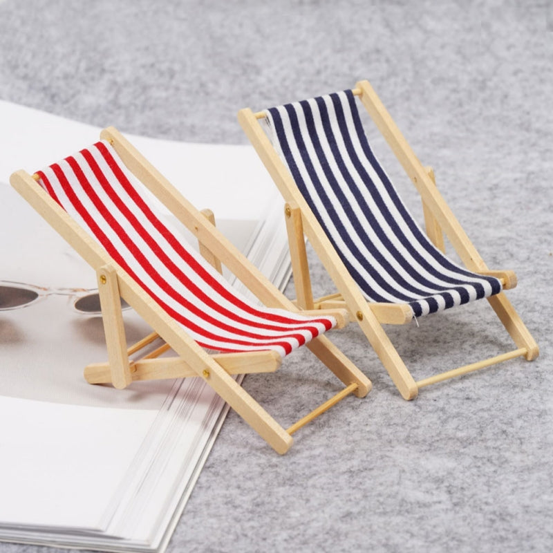 Striped Mini Beach Chair