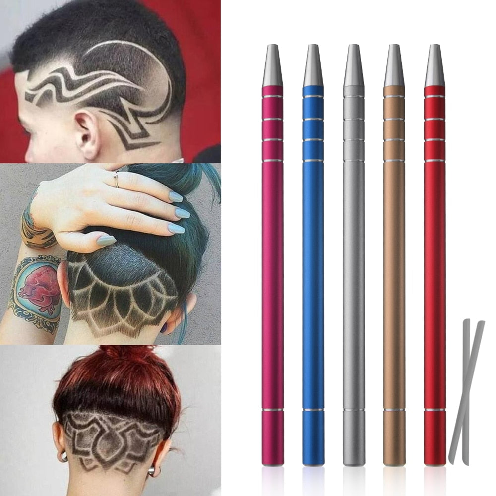 Professional Hair Trimmers  Eyebrows Hair Styling Engraved Pen