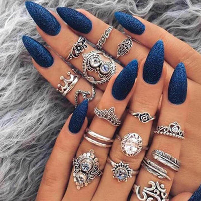 Antique Knuckle Ring Set