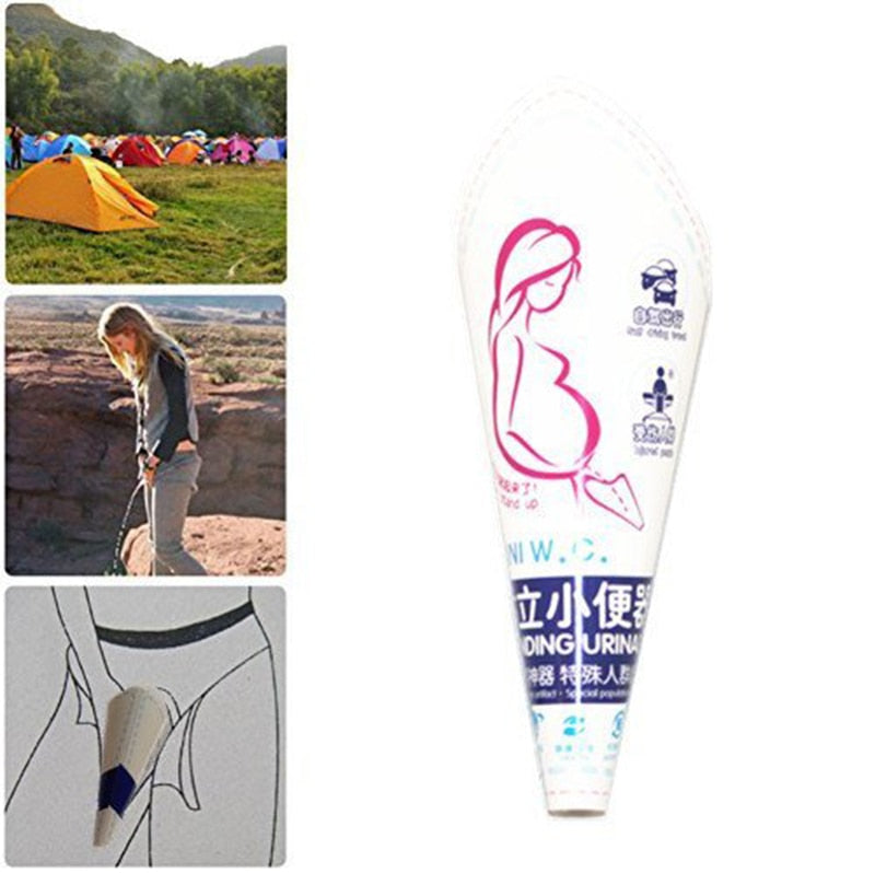 Portable Women Urinal Emergency Urinal Toilet
