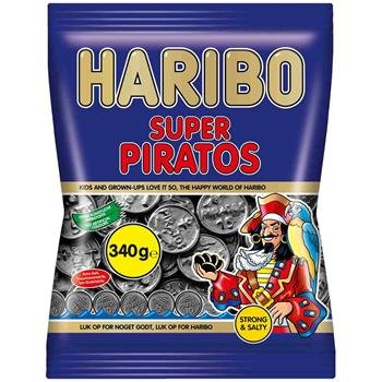 Haribo - Super Piratos 340g