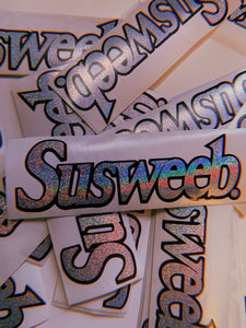 *LIMITED* SUSWEEB LOGO Dual Layer Diecut.