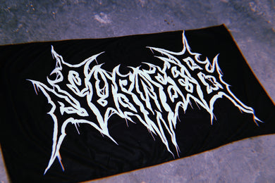SUSWEEB BLACK METAL LOGO Beach Towel