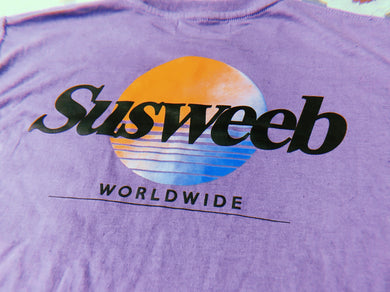 RETRO Worldwide Purple Longsleeve T-Shirt