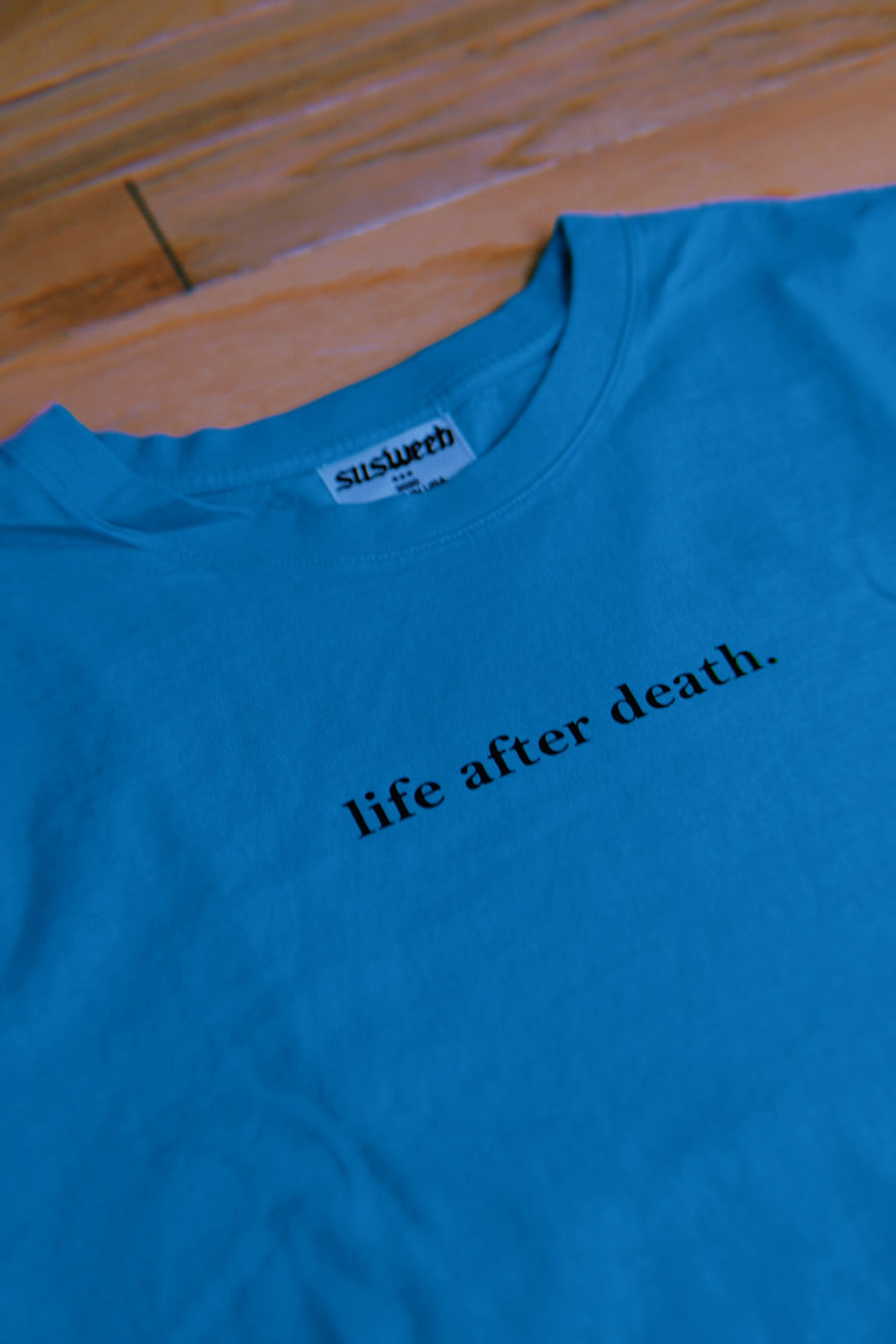 LIFE AFTER DEATH V1 Teal T-Shirt
