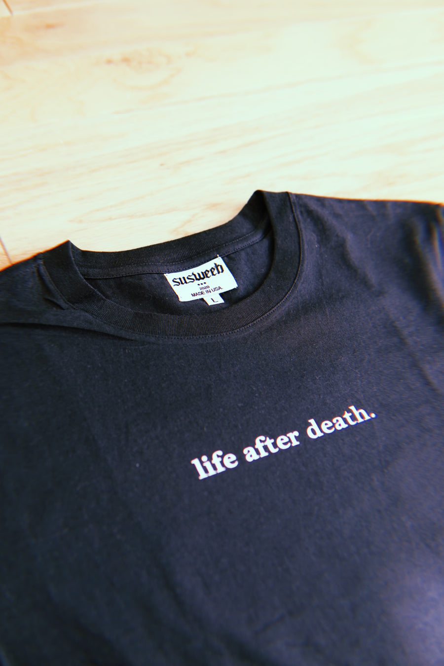 LIFE AFTER DEATH V1 Black T-Shirt