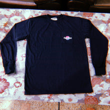 RETRO Worldwide Navy Longsleeve T-Shirt