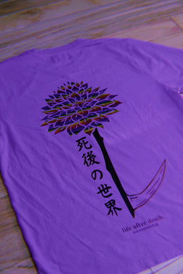LIFE AFTER DEATH V1 Purple T-Shirt