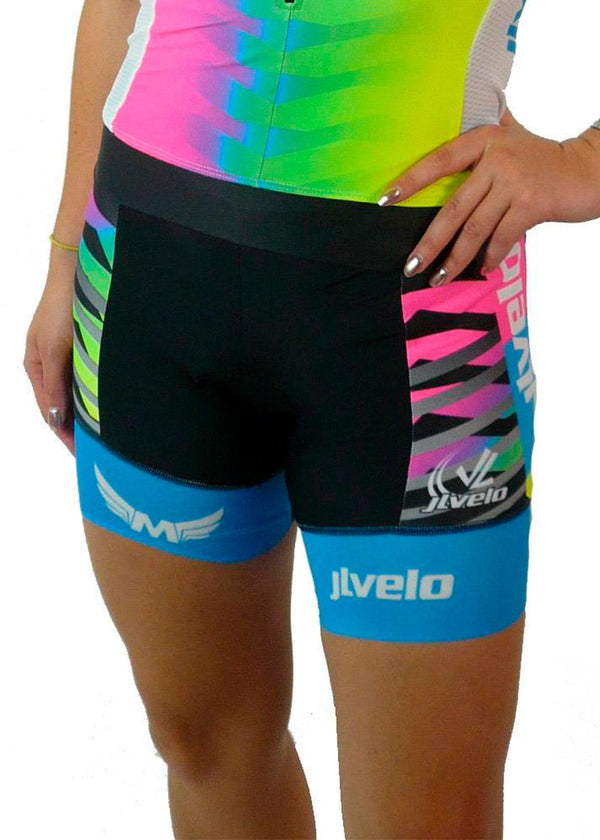 bottoms tights trou workout pant sweats sweatpants shorts capri bibshorts Women's Team Ringer Bibshorts Mackenzie Madison Collection JL Velo $50-$100, Bibshorts, Bottoms, The Mackenzie Madison Collection, Women's $84.95 Size XXSmall  JLAthletics