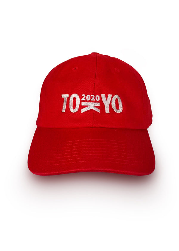 Tokyo 2020 Washed Chino Hat Red JL Racing $10-$50, Accessories + Warmers, Casual, Hats + Headbands, JL Hat, Men's, What's New, Women's $24.95 JLAthletics