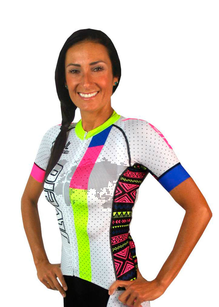 Tech Shirts Technical Shirts Performance Top Performance Tank Workout Top Long Sleeve Short Sleeve Tshirt Women's SDP Jersey Tribal Collection White JL Velo $100-$200, Jerseys, The Tribal Collection, Tops, Women's $119.95 Size XSmall  JLAthletics