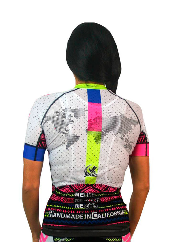 Women's SDP Jersey Tribal Collection White