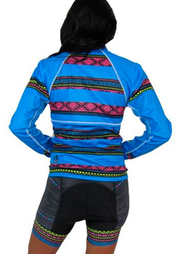 Women's Softshell Jacket Tribal Collection Blue